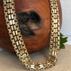 Vintage Sarah Coventry Reversible Snap Necklace